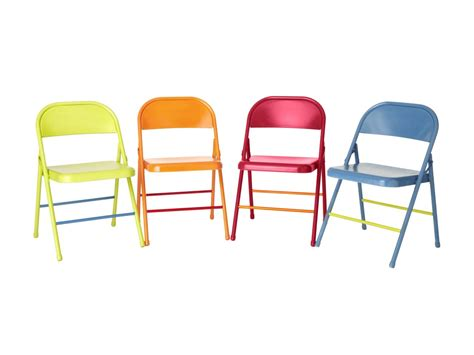 how to colorful folding chairs hgtv