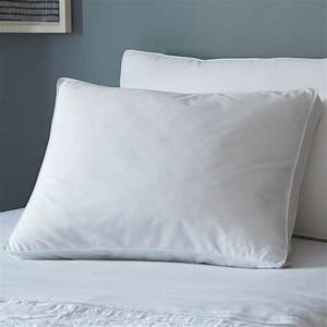 premium down alternative pillow side sleeper west elm With best down pillows for side sleepers