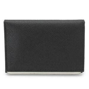 The ultimate destination for guaranteed authentic prada card cases at up to 70% off. Prada Card Case 2Mc101 Saffiano Metal Nero Mens Business Holder Leather Black   eBay