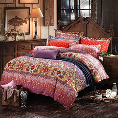 colorful bohemian bedding lelva bohemian exotic colorful ethnic style bedding sets cotton boho style bedding set boho
