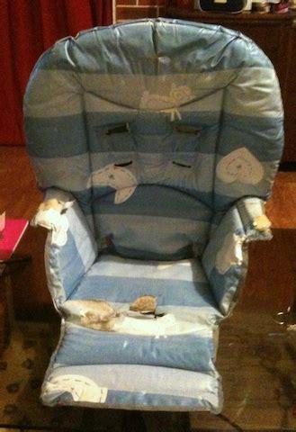 patron coussin chaise haute encore une chose sous la lune