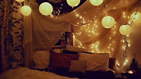 lighted wall  bed canopy  diy decor curiouscom
