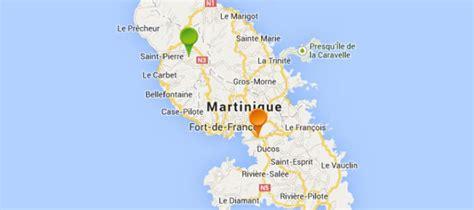 Carte Du Monde Martinique by Carte Martinique Et Pays Voisins Pays Monde