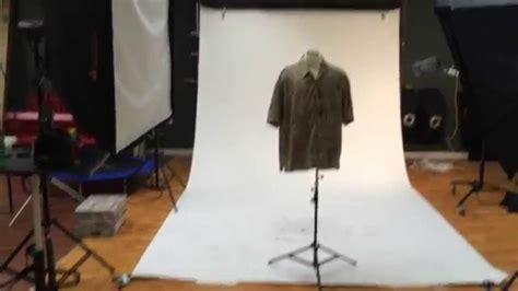 photographing clothing  ebay set  youtube