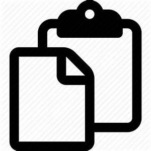 Clipboard, copy, cut, file, paste, survey icon | Icon ...
