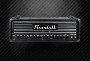 Randall Thrasher Head With Footswitch And Owners Manual