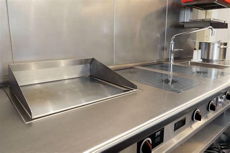Kuchenarbeitsplatte Edelstahl by Edelstahl Arbeitsplatten F 252 R Und In Der K 252 Che K 252 Chenhaus