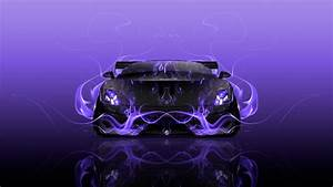 Lamborghini Gallardo Tuning Front Fire Abstract Car 2015