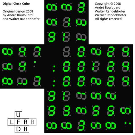 virtual cubes rubiks cube picture cubes digital clock