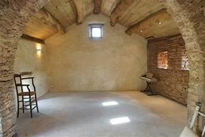 enduit chaux ajaccio rainetteco With mur a la chaux interieur