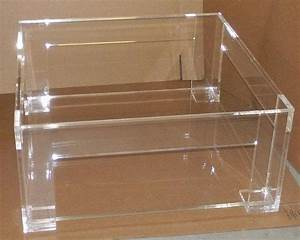 lucite clear coffee table with shelf With acrylic coffee table with shelf