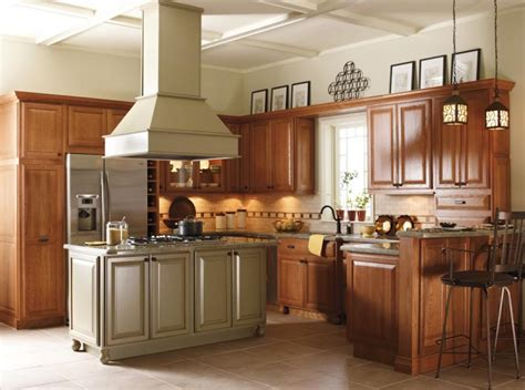 Schrock Cabinets Kitchen Island by Mill Hollow Schrock Cabinets
