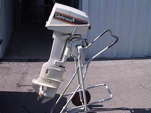 Used 1981 Johnson 7 5 Hp Outboard Boat Motor For Sale