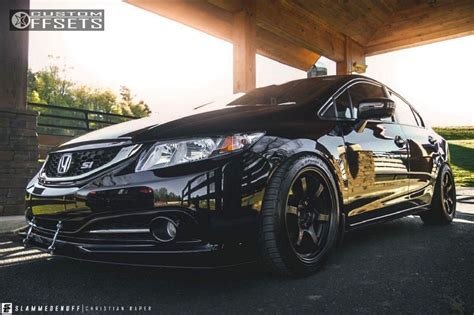 2015 honda civic rays engineering 57dr d2 racing coilovers