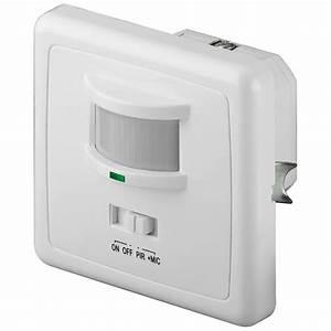 Bewegungsmelder Licht Innen : infrarot bewegungsmelder akkustik melder schalter an aus unterputz innenraum ip20 ~ Buech-reservation.com Haus und Dekorationen