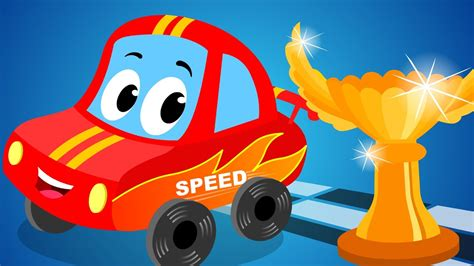 red car   sports car kids song youtube