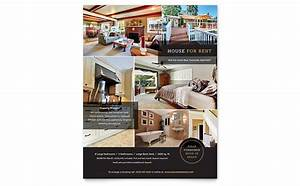 house for rent flyer template design With rental property flyer template