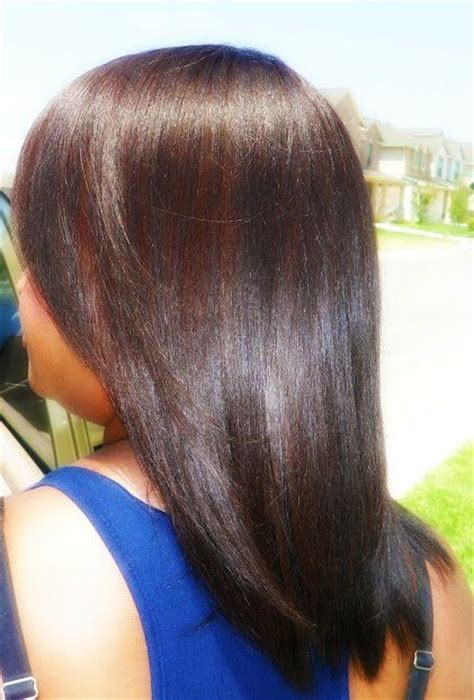 Coloring Relaxed Hair by Best 20 Relaxed Hair Ideas On Relaxed