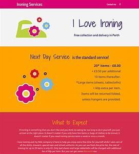 ironing service flyer template - logo studio design joy studio design gallery best design