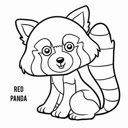 Panda Coloring Coloriage Minore Rode Kleurplaat Colorare