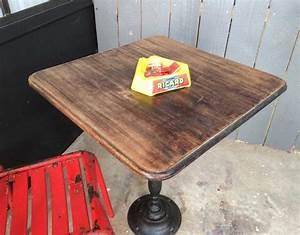 Table Bistrot Ancienne : ancienne table bistrot ~ Melissatoandfro.com Idées de Décoration