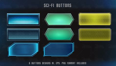 home design elements reviews sci fi buttons thegameassetsmine