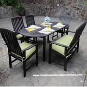 Piece Outdoor Dining Table Set Teak Patio Furniture Dark Brown Wood Piece Best Selling Cast Aluminum Table And Chair Garden Furniture Westport Dining Suite 11 Piece Garden Furniture Set 6 Chairs Table Person 8 Piece Deluxe Tweed Garden Furniture Set Table 6 Chairs