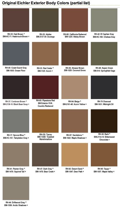 17 best images about 1950s house exterior on paint colors modern ranch and mid