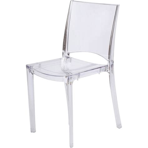 chaise polycarbonate transparente chaise de jardin en polycarbonate transparent