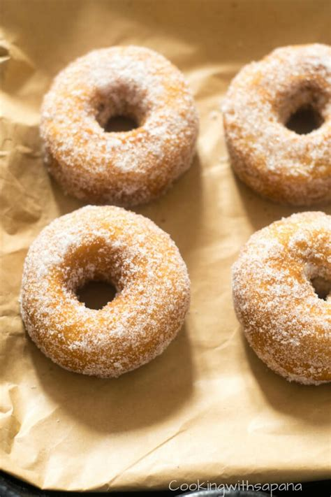 easy donuts  yeast donuts cookingwithsapana