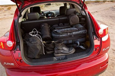 Quest Boat Club Road by 2011 Nissan Juke Term Road Test Cargo Space