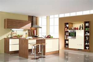 cream brown kitchen decor ideas stylehomesnet With cream and brown kitchen designs