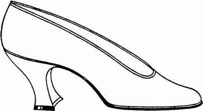 Shoe Clipart Lady Shoes Cinderella Slippers Cliparts