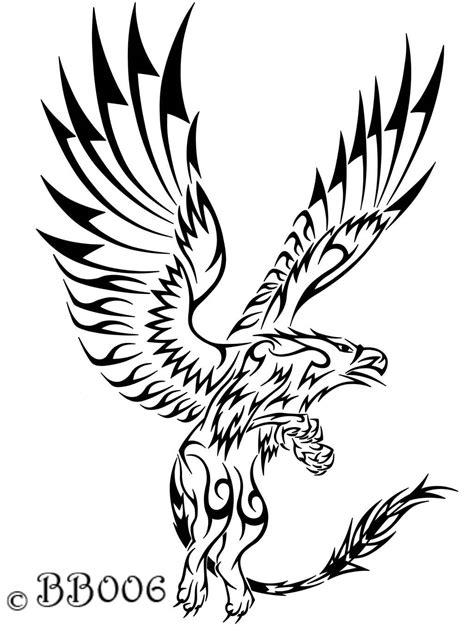22+ Tribal Griffin Tattoos Ideas