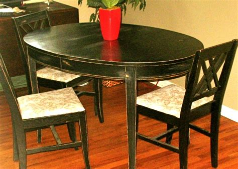 dining table distressed dining table and chairs