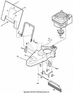 Troy Bilt 52067 5 Hp Trimmer    Mower Parts Diagram For General Assembly