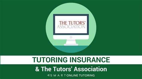Tutoring Insurance And The Tutors' Association Smart