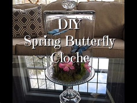 Diy Spring Butterfly Cloche How To  Dollar Tree Supplies