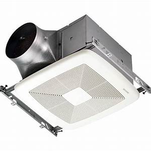 Broan Zb110 White 110 Cfm 0 3 Sone Ceiling Mounted Energy