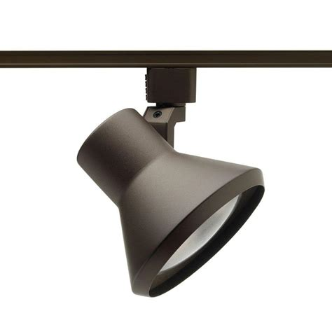 juno 75 watt flare bronze track lighting r552 bz