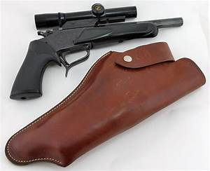 Thompson Center Contender 22 Hornet Pistol with Scope and ...