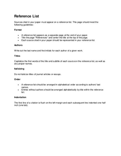 apa style citation format easy guide sles