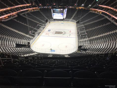 mobile arena section  vegas golden knights rateyourseatscom