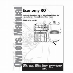 Aqua Flow Economy Reverse Osmosis Drinking Water System