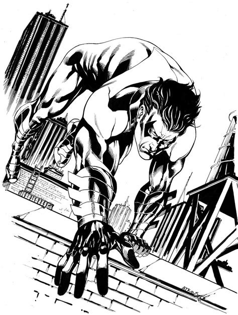 printable nightwing coloring pages  kids