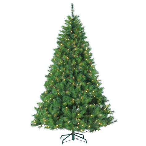 ge nordic spruce christmas tree national tree company 7 5 ft nordic spruce slim artificial tree with dual color led