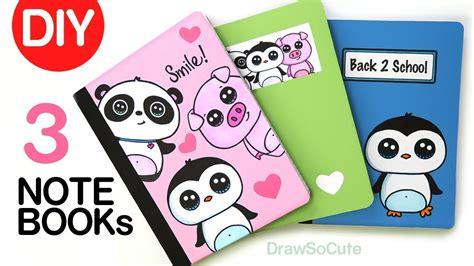 diy notebook cover designs    school super easy