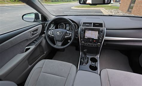 toyota camry interior 2017 toyota camry in depth model review car and driver