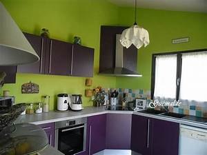 Couleur Cuisine Moderne : nouvelle cuisine pour tit case couleurs le monde de guemalde ~ Melissatoandfro.com Idées de Décoration