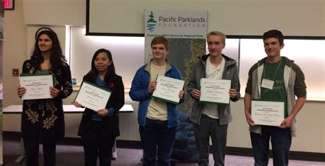 students recognized environmental stewardship burnaby schools
